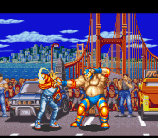 Screenshot Thumbnail / Media File 1 for Fatal Fury (Europe)