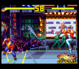 Screenshot Thumbnail / Media File 1 for Fatal Fury Special (Europe) (Beta)
