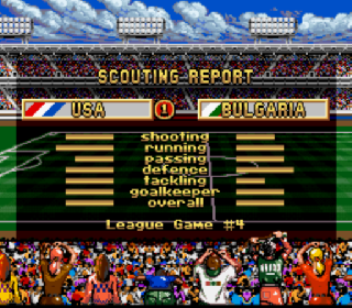 Screenshot Thumbnail / Media File 1 for FIFA International Soccer (USA)