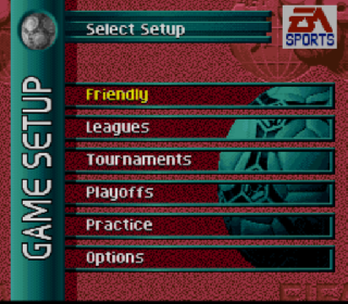 Screenshot Thumbnail / Media File 1 for FIFA Soccer '96 (Europe) (En,Fr,De,Es,It,Sv)