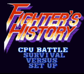 Screenshot Thumbnail / Media File 1 for Fighter's History (Japan)