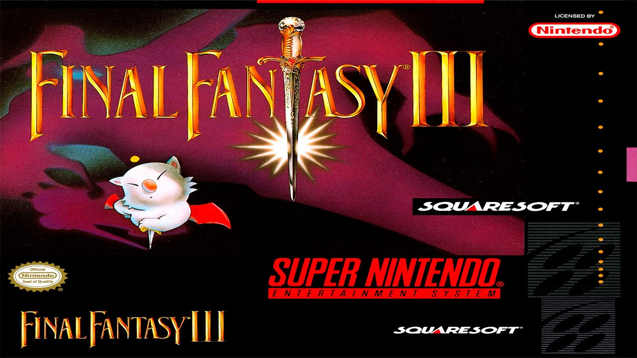 Image result for final fantasy 3 snes screenshot