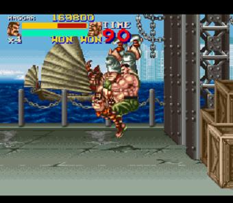 Resultado de imagem para final fight 2 haggar