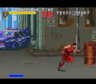 Screenshot Thumbnail / Media File 1 for Final Fight 3 (USA) (Beta)