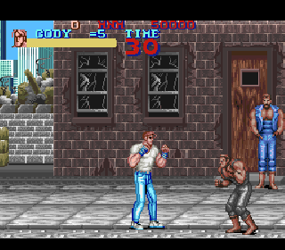Screenshot Thumbnail / Media File 1 for Final Fight (Europe)