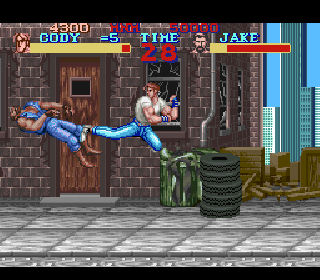 Screenshot Thumbnail / Media File 1 for Final Fight (Japan)