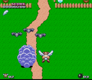 Screenshot Thumbnail / Media File 1 for Flying Hero - Bugyuru no Daibouken (Japan)