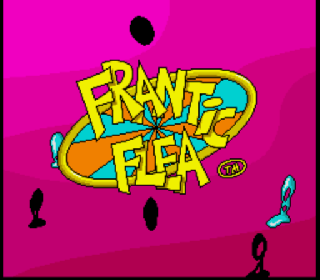 Screenshot Thumbnail / Media File 1 for Frantic Flea (Europe) (Beta)