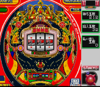 Screenshot Thumbnail / Media File 1 for Gindama Oyakata no Pachinko Hisshouhou (Japan)