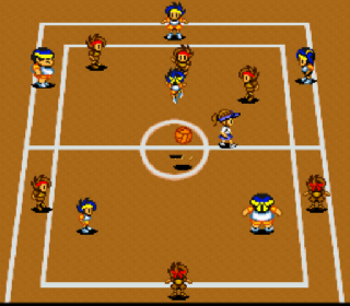 Screenshot Thumbnail / Media File 1 for Go! Go! Dodge League (Japan) (Rev A)