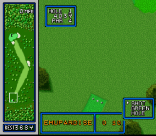 Screenshot Thumbnail / Media File 1 for HAL's Hole in One Golf (USA)