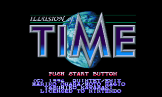 Screenshot Thumbnail / Media File 1 for Illusion of Time (Europe)