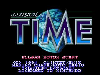 Screenshot Thumbnail / Media File 1 for Illusion of Time (Spain)