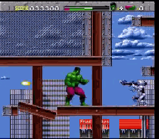 Screenshot Thumbnail / Media File 1 for Incredible Hulk, The (USA)