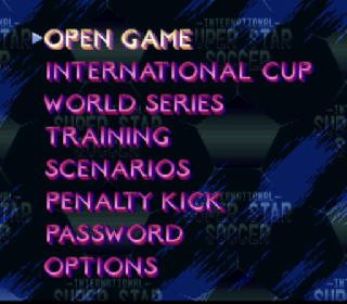 Screenshot Thumbnail / Media File 1 for International Superstar Soccer (Europe)