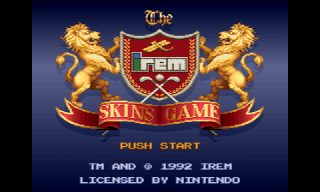 Screenshot Thumbnail / Media File 1 for Irem Skins Game, The (USA)
