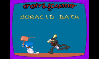 Screenshot Thumbnail / Media File 1 for Itchy & Scratchy Game, The (Europe)