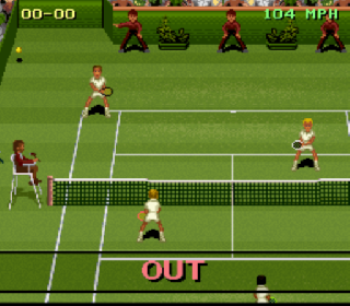 Screenshot Thumbnail / Media File 1 for Jimmy Connors Pro Tennis Tour (Europe)