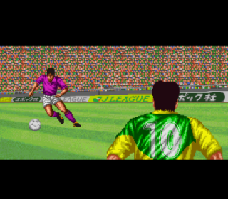 Screenshot Thumbnail / Media File 1 for J.League Excite Stage '94 (Japan) (Rev A)