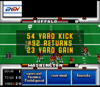Screenshot Thumbnail / Media File 1 for John Madden Football '93 (Europe)