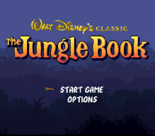 Screenshot Thumbnail / Media File 1 for Jungle Book, The (USA) (Beta)