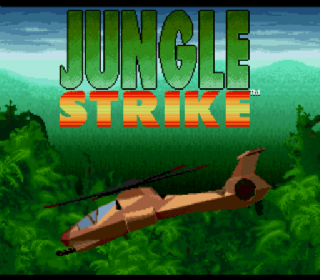 Screenshot Thumbnail / Media File 1 for Jungle Strike (Japan)