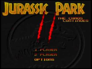 Screenshot Thumbnail / Media File 1 for Jurassic Park II - The Chaos Continues (USA) (En,Fr,De,It) (Beta)