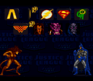 Screenshot Thumbnail / Media File 1 for Justice League Task Force (Japan)