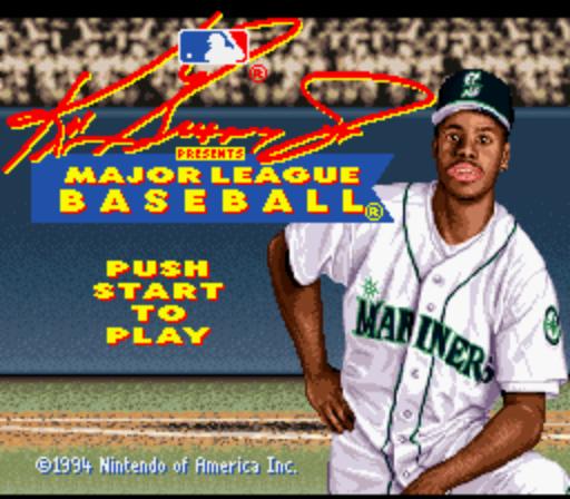 7224060c37 Screenshot Thumbnail / Media File 5 for Ken Griffey Jr. Presents Major  League Baseball (