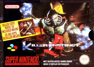 Screenshot Thumbnail / Media File 1 for Killer Instinct (Europe)