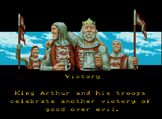 Screenshot Thumbnail / Media File 1 for King Arthur's World (USA) (Beta)