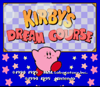 Screenshot Thumbnail / Media File 1 for Kirby's Dream Course (Europe)