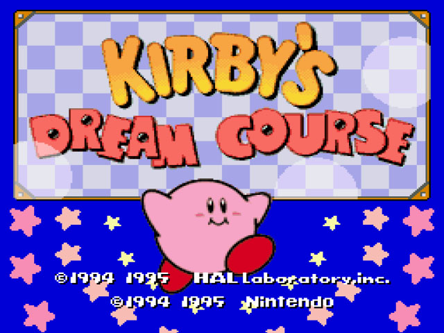 Image result for kirby's dream course