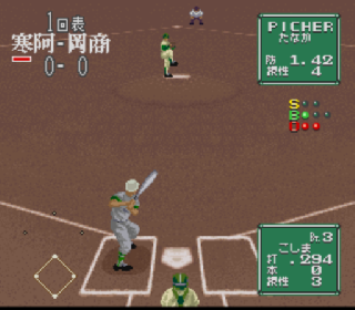 Screenshot Thumbnail / Media File 1 for Koushien 2 (Japan)