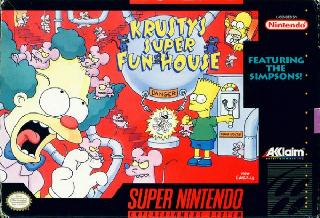 Screenshot Thumbnail / Media File 1 for Krusty's Super Fun House (USA)
