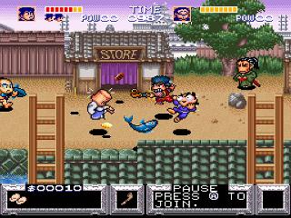 Screenshot Thumbnail / Media File 1 for Legend of the Mystical Ninja, The (USA)
