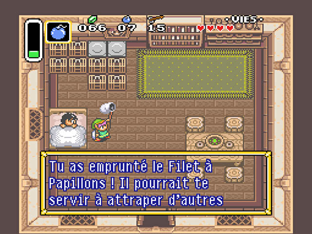 Legend of Zelda, The - A Link to the Past (France) ROM