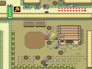Screenshot Thumbnail / Media File 1 for Legend of Zelda, The - A Link to the Past (France)