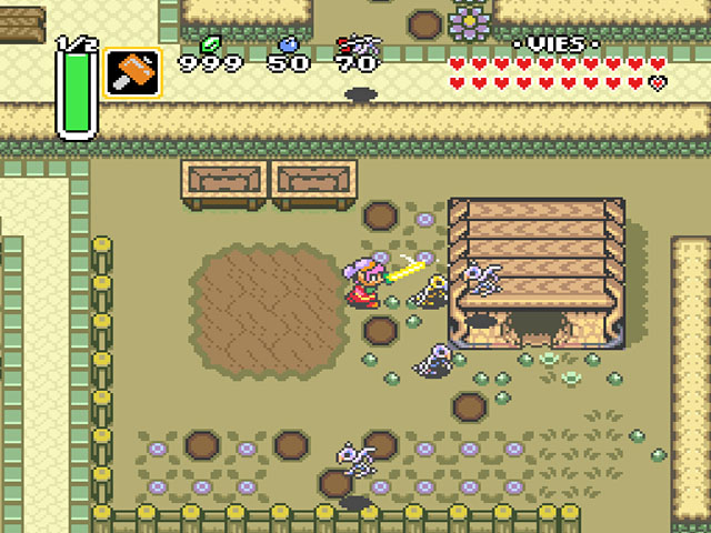 Legend of Zelda, The - A Link to the Past (France) ROM < SNES ROMs