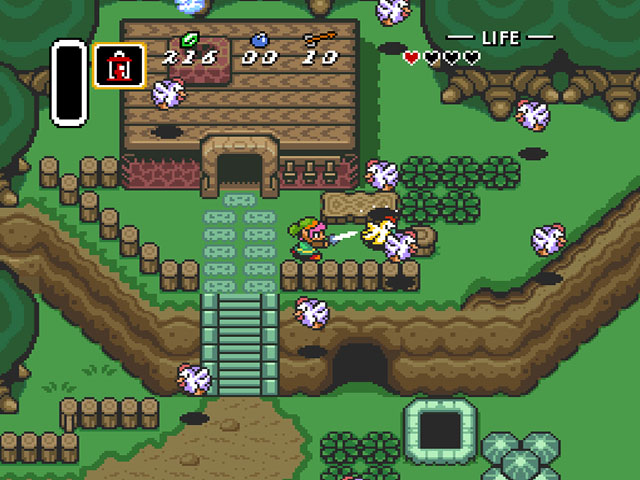 Image result for zelda a link to the past