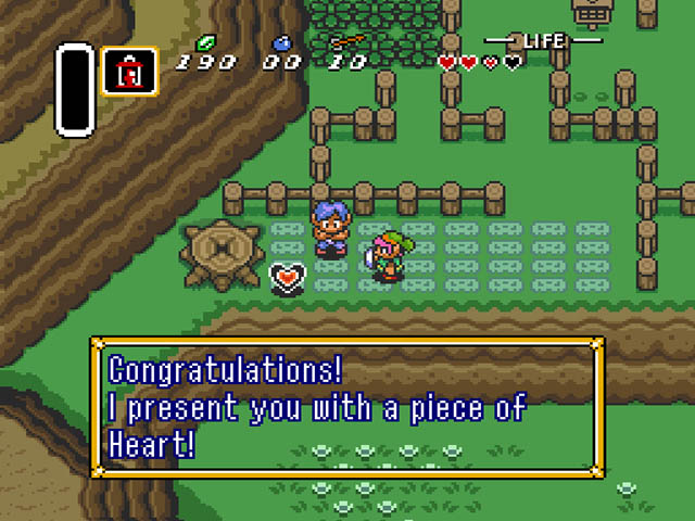 Legend of Zelda, The - A Link to the Past (USA) ROM < SNES ROMs