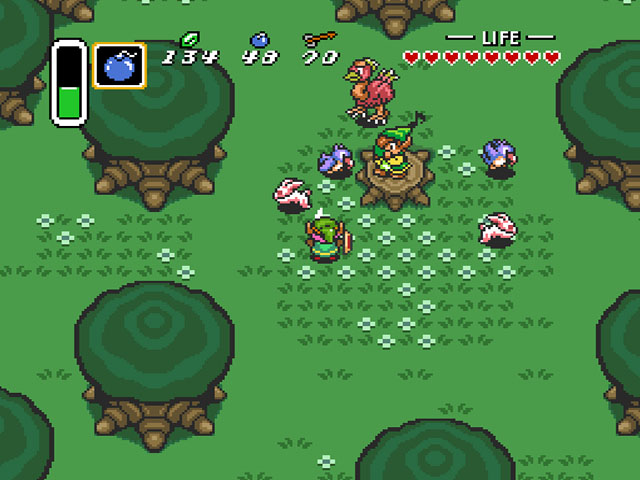Legend of Zelda, The - A Link to the Past (USA) ROM < SNES