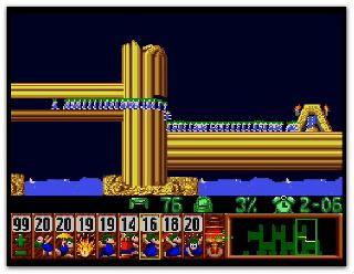 Screenshot Thumbnail / Media File 1 for Lemmings (USA)