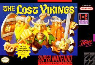 Screenshot Thumbnail / Media File 1 for Lost Vikings, The (France) (En,Fr)
