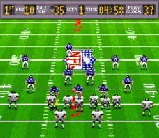 Screenshot Thumbnail / Media File 1 for Madden NFL '94 (USA)