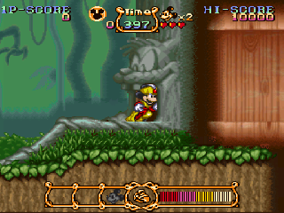 Screenshot Thumbnail / Media File 1 for Magical Quest Starring Mickey Mouse, The (Europe)