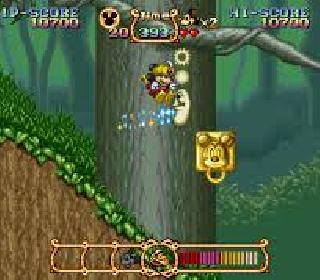 Screenshot Thumbnail / Media File 1 for Magical Quest Starring Mickey Mouse, The (USA)
