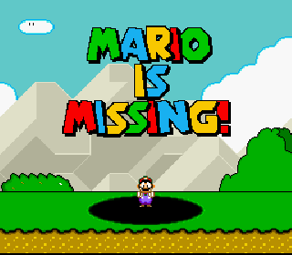Screenshot Thumbnail / Media File 1 for Mario is Missing! (France)
