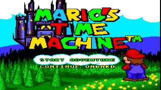 Screenshot Thumbnail / Media File 1 for Mario's Time Machine (USA)