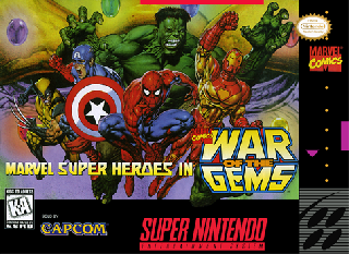 Screenshot Thumbnail / Media File 1 for Marvel Super Heroes - War of the Gems (Japan)